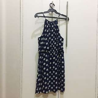 Forever 21 - Polka Dotted Halter Dress