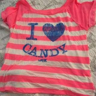 I Love Candy Shirt