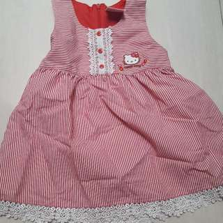 Hello Kitty Stripe Dress