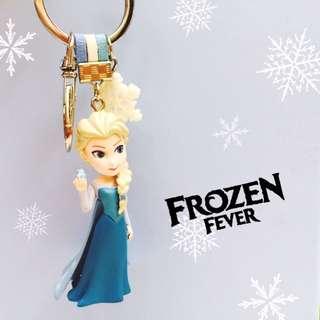 DIY 冰雪奇緣 Elsa艾莎鑰匙圈吊飾