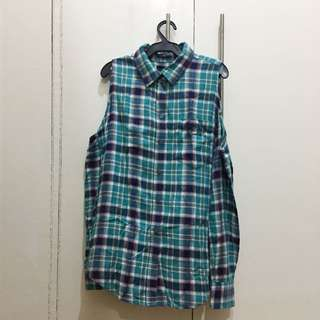 Forever 21 - Shoulderless Plaid Top