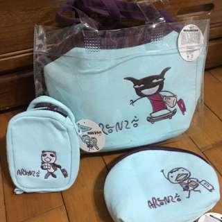 卡哇依的阿朗基保冷袋三件組