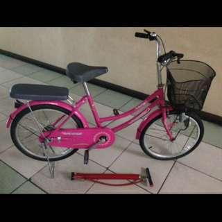 Pink Japanese Bike