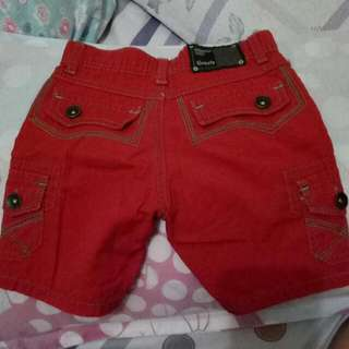 Grizzly Red Short