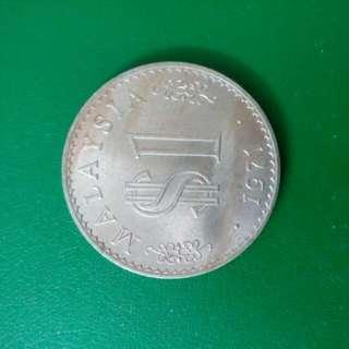 Malaysian 1ringgit Coin 1971#XMAS25