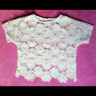 Gingersnap Lace Blouse