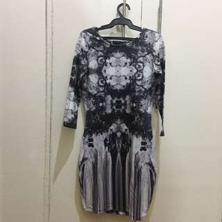 River Island - Print Fitted Dress