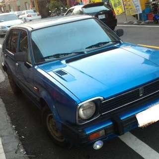 古董車 二代喜美