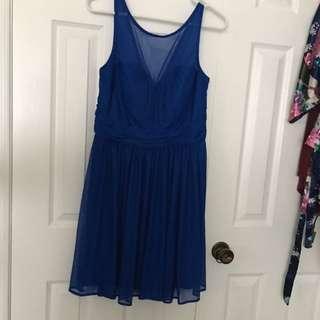 Horizon Blue Dress
