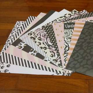 BN Papermarket Scrapbook Papers