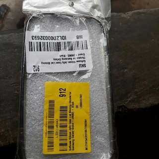 Soft Case Silicon Jelly Case List Shining Chrome For Samsung Galaxy Grand 1 (I9082) - Black