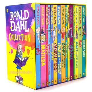 (預訂)英國入口 -Roald Dahl 經典作品15本套裝
