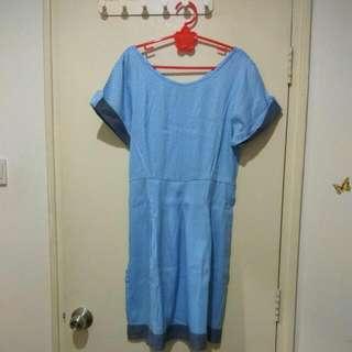 Dress Biru PerFavore