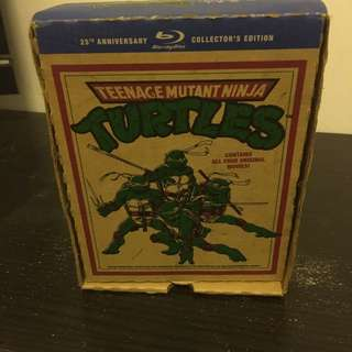 Turtle Ninja Coller Blu-ray Box