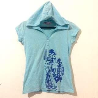 RRJ Printed Tshirt With Hood