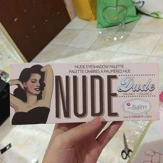 The Balm Nude Dude Eyeshadow Pallete