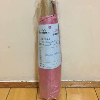 萊登 高防曬係數UPF50+ 210g超輕自動傘 粉紅