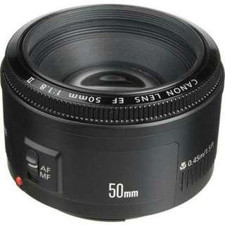 Canon Prime Lens EF 50mm f1.8 II