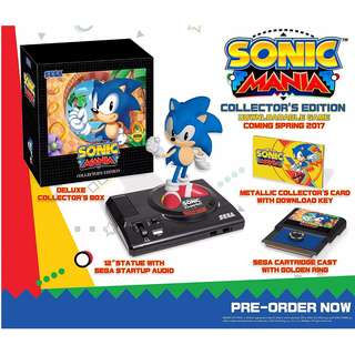 (1 left) Sonic Mania: Collector's Edition - Nintendo Switch
