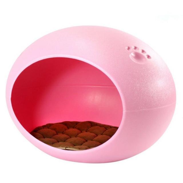 【狗狗貓貓蛋窩】可使用水沖洗,粉色,近全新