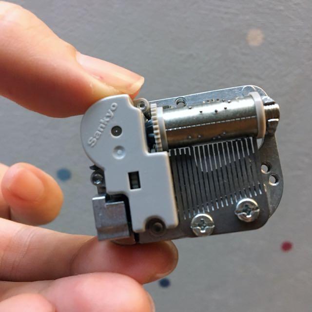 音樂盒機芯材料