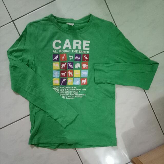 #綠色上衣