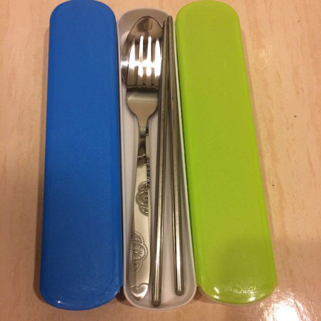 全新 攜帶式餐具組