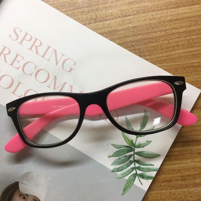 造型 黑框 眼鏡