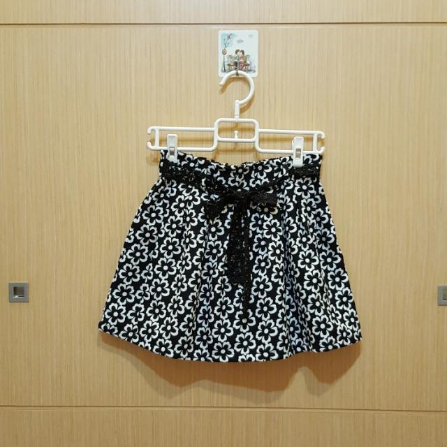 全新蝴蝶結短裙 F(內有同色安全褲)