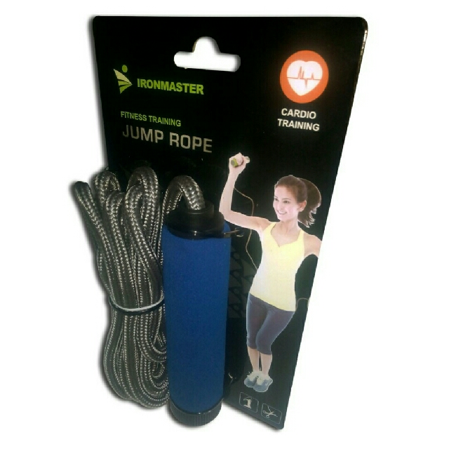 ❗❗❗ PROMO ALERT: READ BELOW ❗❗❗ Iron Master Jump Rope (Braided)