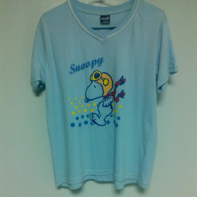 史努比 純棉T-恤