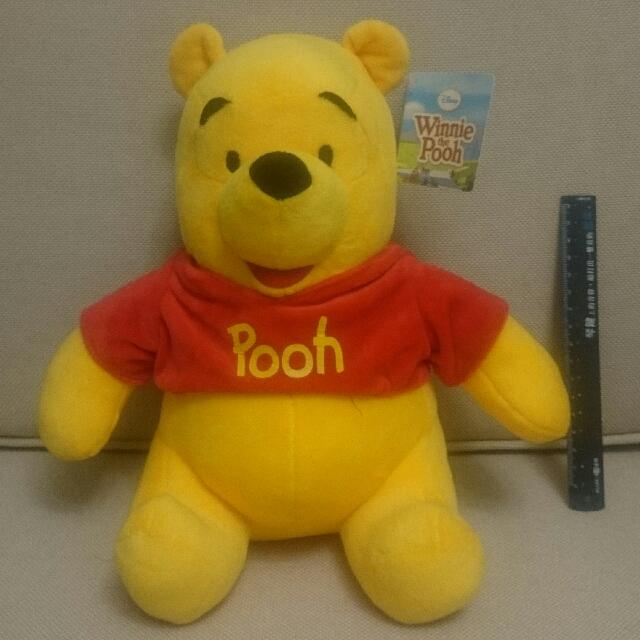 小熊維尼 winnie the pooh 玩偶娃娃