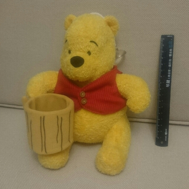 毛茸的小熊維尼 Winnie The Pooh 迪士尼玩偶娃娃
