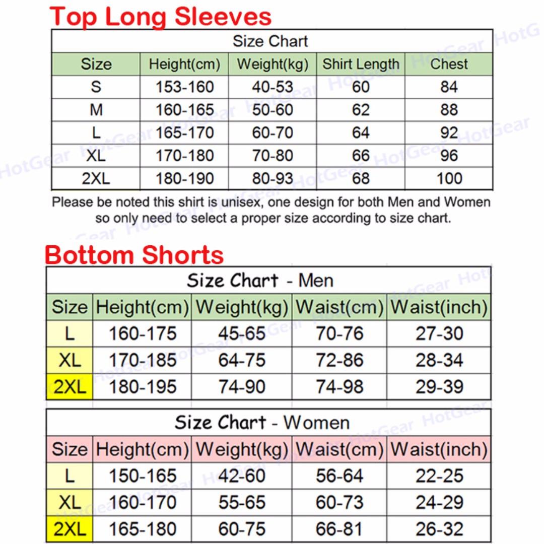 Anti-UV RashGuard Swimwear ◇ Top Shirt and Bottom Shorts