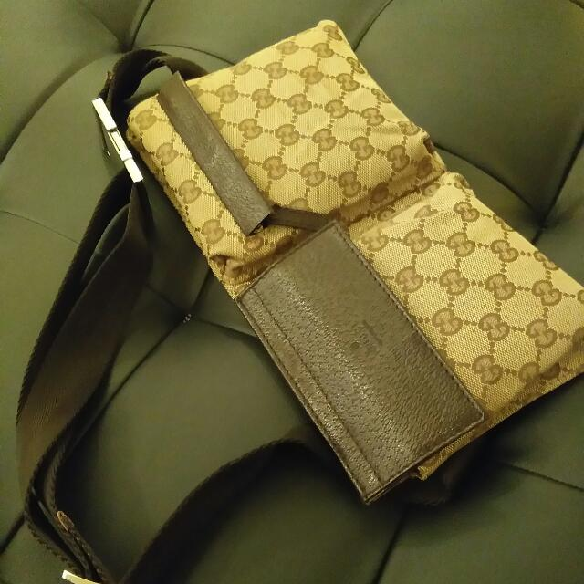 Authentic Gucci Belt Bag not Louis Vuitton Prada Hermes Long Champ Coach MK or LV