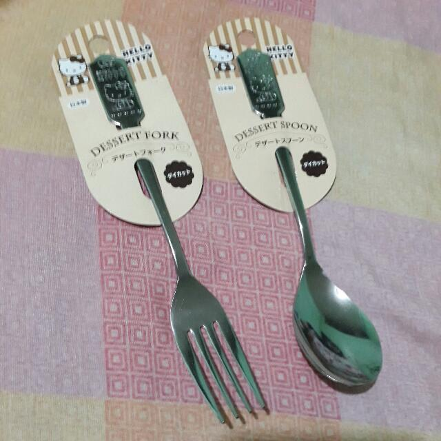 Authentic Hello Kitty Utensils