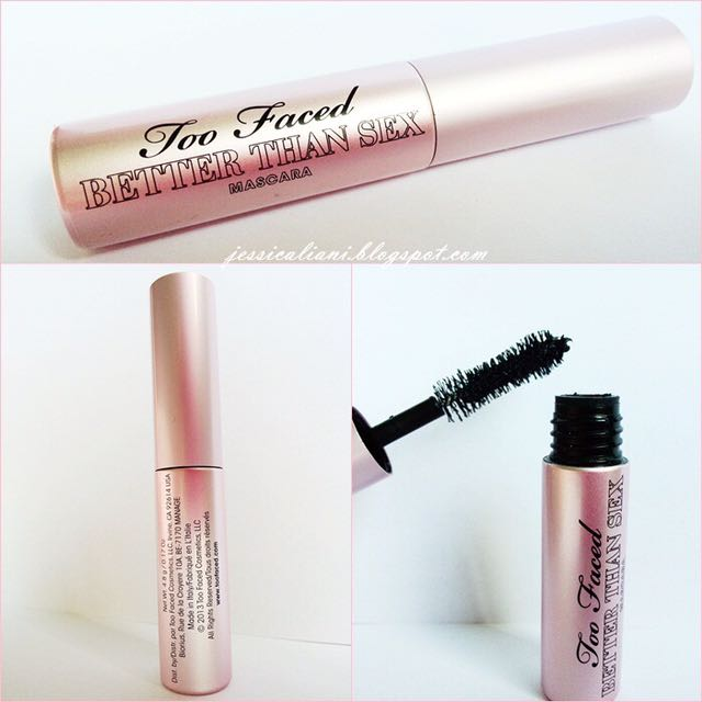 AUTHENTIC TOO FACED MINI BETTER THAN SEX MASCARA