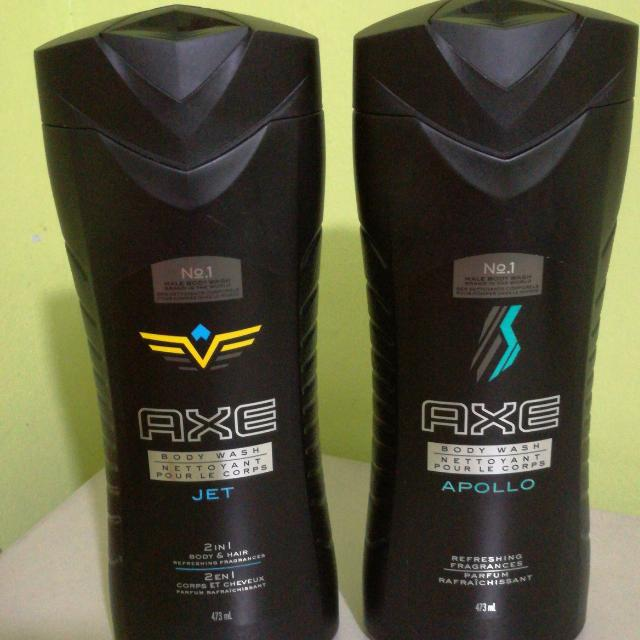Pack Of 2 AXE Body/hair Wash 473 Ml