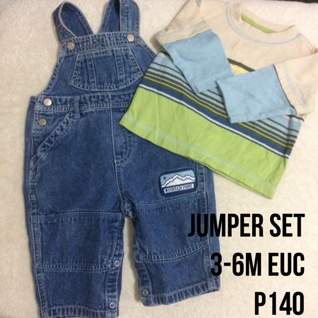 Baby Boy Jumper Set