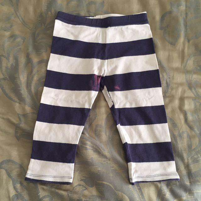 Baby Gap Kids Legging Stripes Celana Panjang Anak Size 3-4YO
