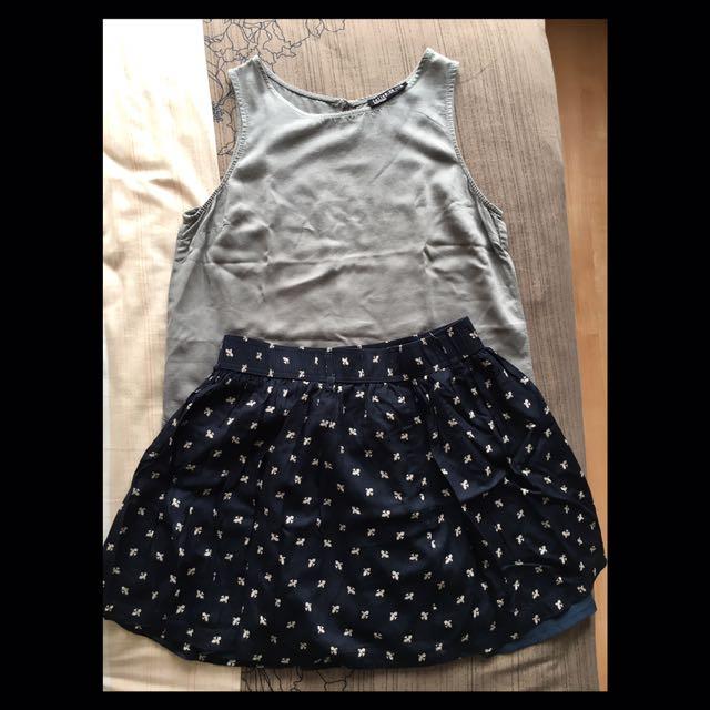 BEST DEAL skirt+top