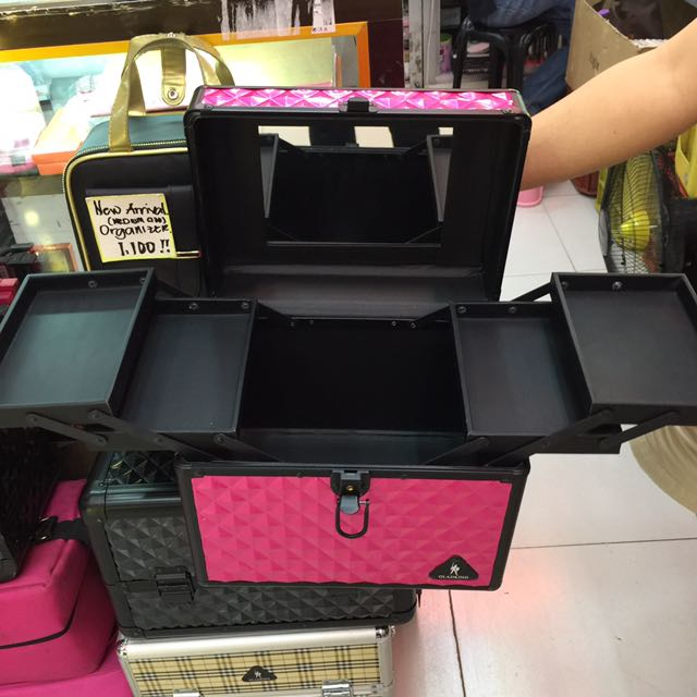 Big Make-up Train Case With Mirror