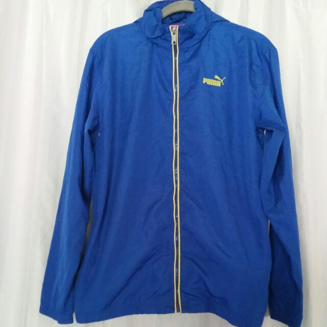 Blue Puma Raincoat