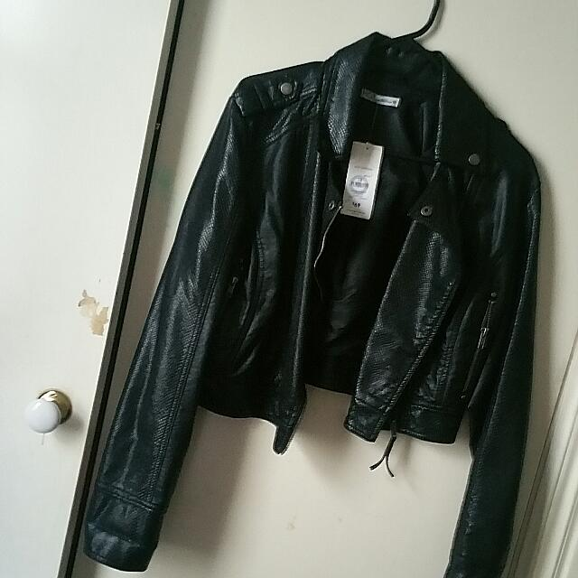 BNWT Biker Jacket