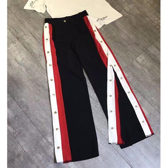 Button Up Pants