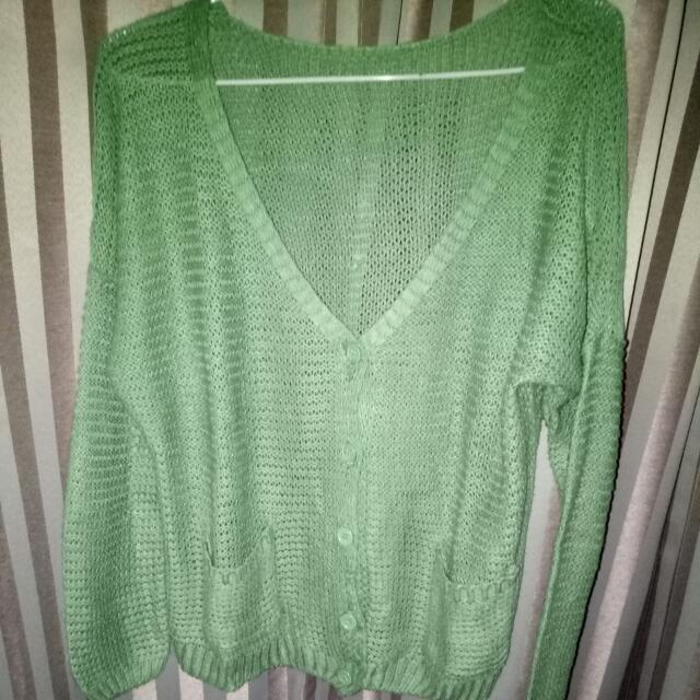 Cardigan  (green)