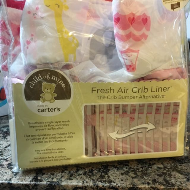 Brand New Carter's Breathable Mesh Crib Liner