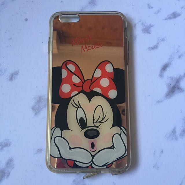 [PRELOVED] Casing Softcase Iphone 6s+ Minnie Mouse