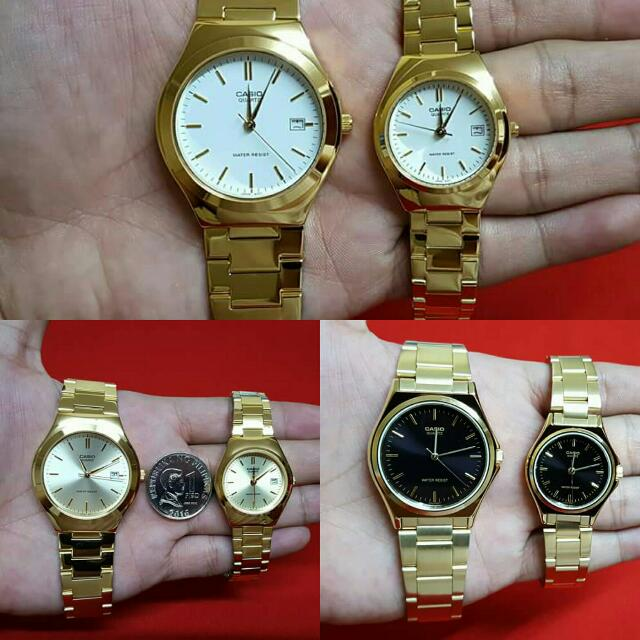 CASIO 'COUPLE WATCH'