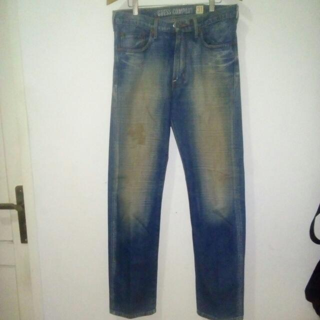 Celana Jeans Guess Size 31